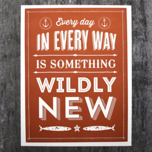 wildly new red small